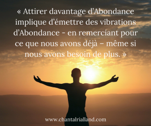 Post FB Gratitude abondance Septembre 2018