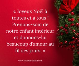 Post FB Décembre Joyeux Noël