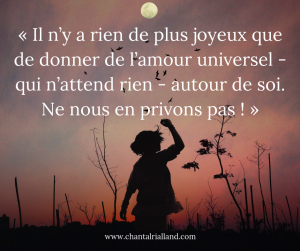 Post FB Janvier 2019 Amour universel