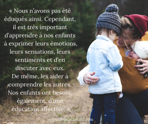 Post FB février 2019 Education affective