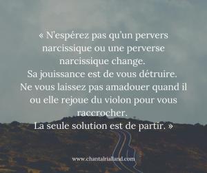 Post FB Juillet 2019 Perversion narcissique