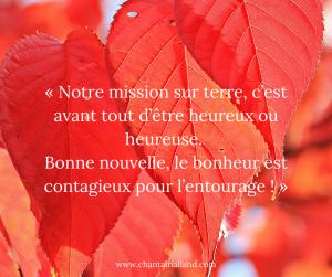 Post FB novembre 2019 Mission Bonheur