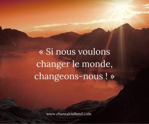 Post FB Janvier 2020 Changer le monde